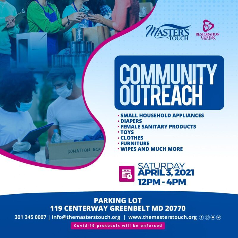 Master's Touch Community Outreach